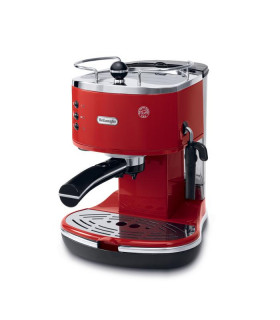 LONGHI ICONA CLASSIC RED COFFEE MAKER